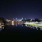 MCG and Yarra by melbourne