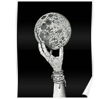 Moon in Her Hand Poster