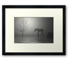One Is A Lonely Number Framed Print