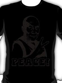 Dalai Lama Peace Sign T-Shirt T-Shirt
