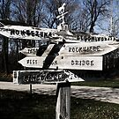 Parke County Direction Sign by Brad Staggs