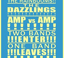 The Rainbooms vs. The Dazzlings by Jailboticus