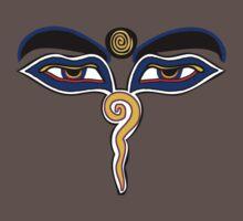 Buddha Eyes Symbol Kids Clothes