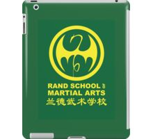Rand School of Martial Arts Shirt iPad Case/Skin