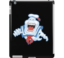 Funny Ghostbusters Slimer Stay Puft Marshmallow Man Mash Up iPad Case/Skin