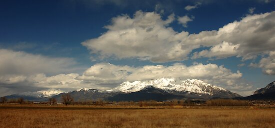 Mount Timpanogos from Utah Lake State Park by Ryan Houston