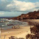 Beach at Port Macquarie by georgieboy98