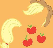 Applejack by Diddlys-Shop