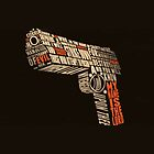 Pulp Fiction - Gun art by rikovski