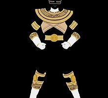 Power Rangers Zeo Gold Ranger iPhone Case by simplepete