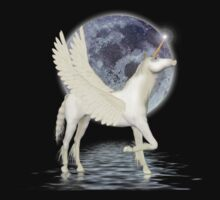 By Moonlight ... Pegasus by LoneAngel