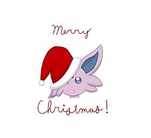 Merry Christmas From Espeon! by 1bookfish