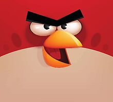 Red Angry Bird by Cyberbob