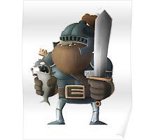 King Fish & Knight Sherridan Poster
