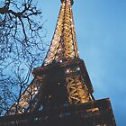 La Tour de Eiffel by Catherine C.  Turner