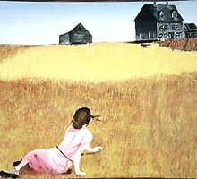 Wyeth's Woman by students