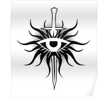 Inquisition Symbol Dragon Age Poster
