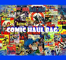 Comic Haul Bag (Batman Theme) by MaskedMarvel