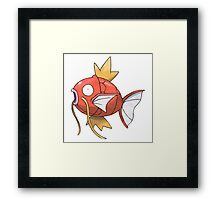 POKEMON MAGIKARP Framed Print