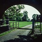 Gateway to Lanercost Priory Cumbria England 198405260004m by Fred Mitchell