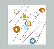 Circles, rods and rings, collectable ART, GIFTS and DECOR by ackelly4