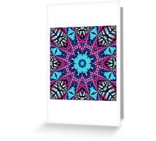 Ice Crystal Dreaming Greeting Card