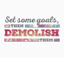 Motivational - Set your goals by BadChicken