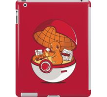 Red Pokehouse iPad Case/Skin