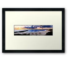 Cottesloe Sunset Framed Print