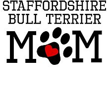 Staffordshire Bull Terrier Mom by kwg2200