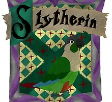 Slytherin Crest by parrotproducts
