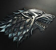game of thrones-house stark by bing5160