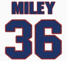 National baseball player Wade Miley jersey 36 by imsport