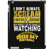 Greenbay Football Fan Tshirts & Hoodies iPad Case/Skin