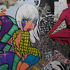 Hosier Lane ladies 1 by Gowri Gilbertson