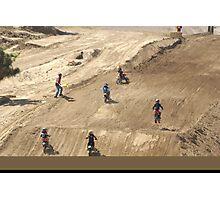Loretta Lynn's SW Area - Wind Whipped Mini Rider! Competitive Edge MX Hesperia, CA, (1100 Views as of 5-9-11) Photographic Print
