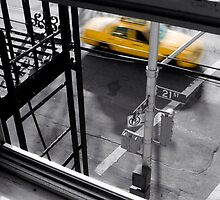 New York Taxi by Andrew Elms