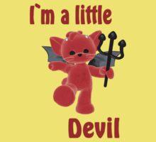 I`m a little devil Kids Clothes