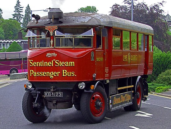 Steam Bus II by Tom Gomez
