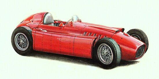 1954 Lancia D50  2487cc  260bhp by PaulReddyoff