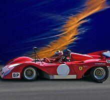 1974 Ferrari 312P V12 by DaveKoontz
