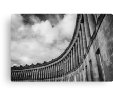 The Royal Crescent of Bath #2 Canvas Print
