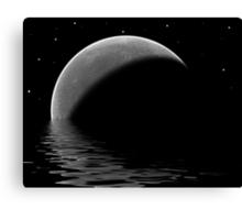 Lunar Lake Canvas Print