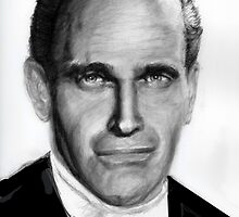 Charlton Heston by Carliss Mora