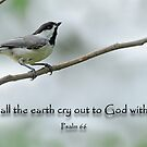 Let all the earth cry out to God with joy  by Bonnie T.  Barry