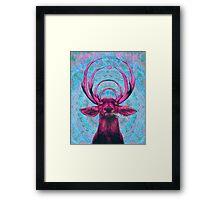 Dope Deer Framed Print