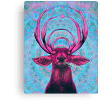 Dope Deer Canvas Print