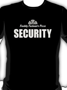 Freddy's Fazbear Pizza Security T-Shirt T-Shirt