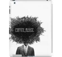 Coffee, Please iPad Case/Skin