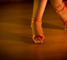Latin woman dancing feet by GemaIbarra